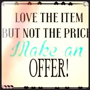 ❤️ it? Make an Offer!!!
